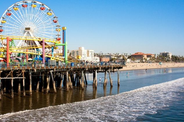 Santa Monica Pier - October 2013.